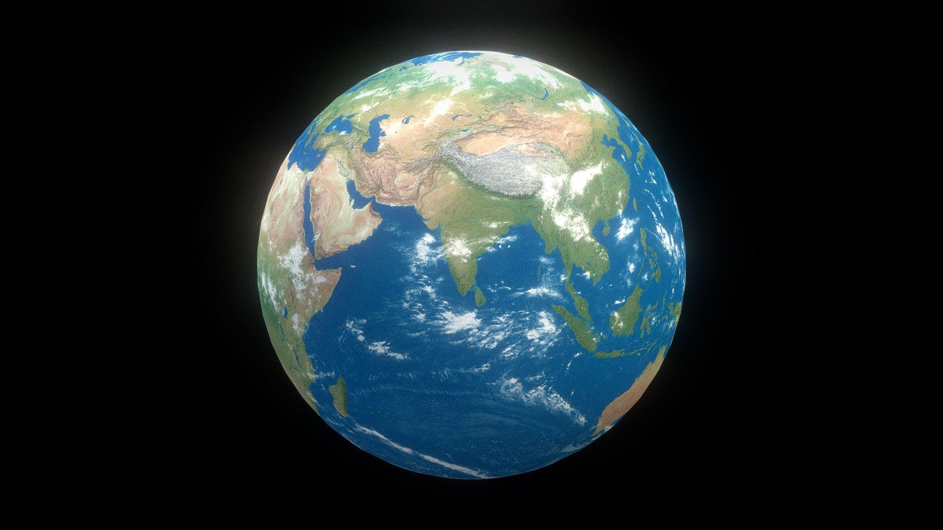 Earth - Download Free 3D model by Akshat (@shooter24994) [41fc80d] - Sketchfab