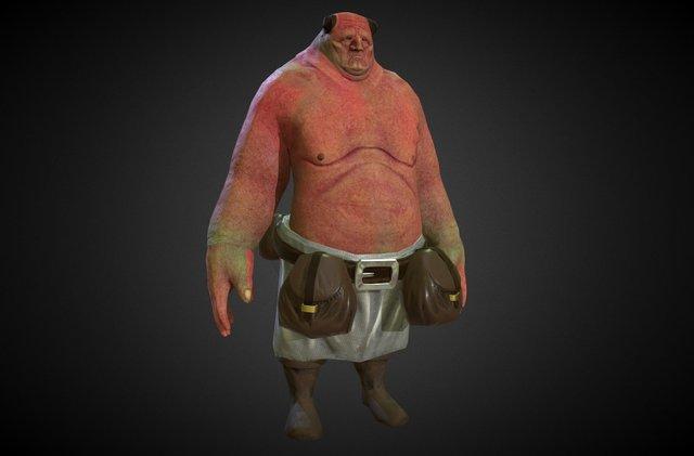 Merchant Ogre 3D Model