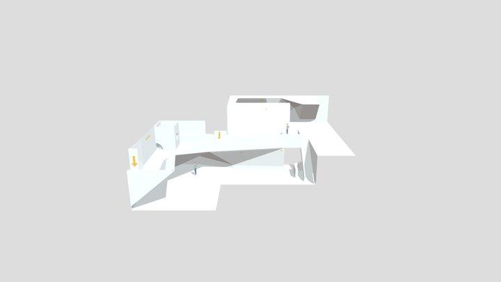 Studio Klifra Klatrevegg Design 3D Model