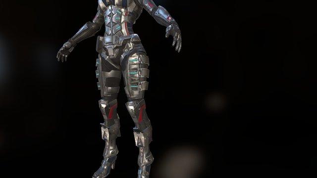 woman01 3D Model