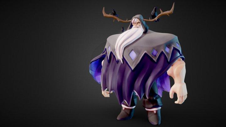 Odin Stylized 3D Model