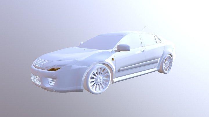 Dosch - Car Details V2 - Lightwave 3D Model
