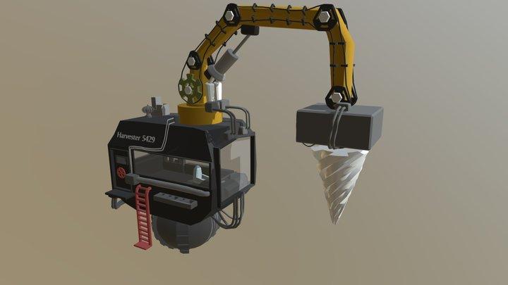 Harvester 5429 3D Model