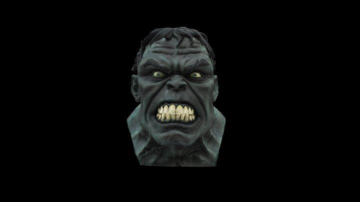 Hulk No Base 3D Model