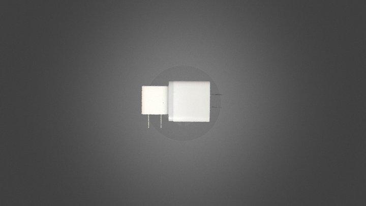 Surface HD50 充电头 3D Model