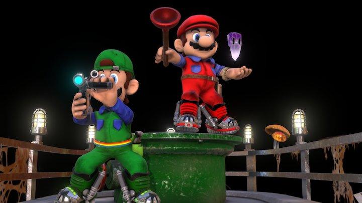 Super Mario Bros The Movie: The Game 3D Model