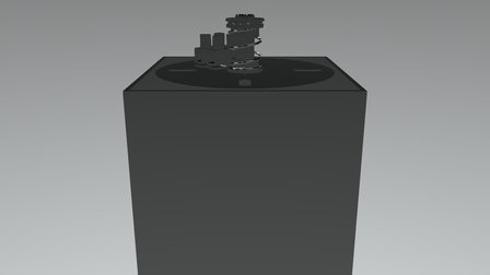 APLIQUE ICE HL GU10-ASCII 3D Model