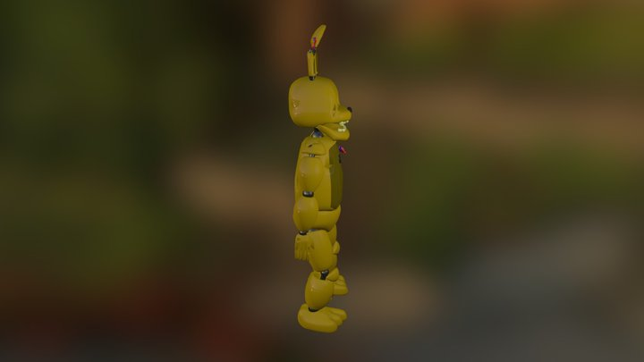 Springtrap 2.0! 3D Model