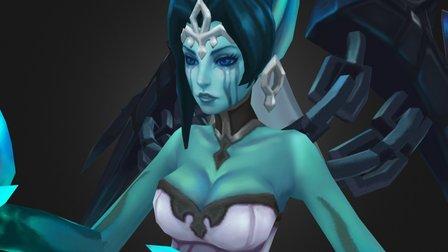 Ghost Bride Morgana 3D Model