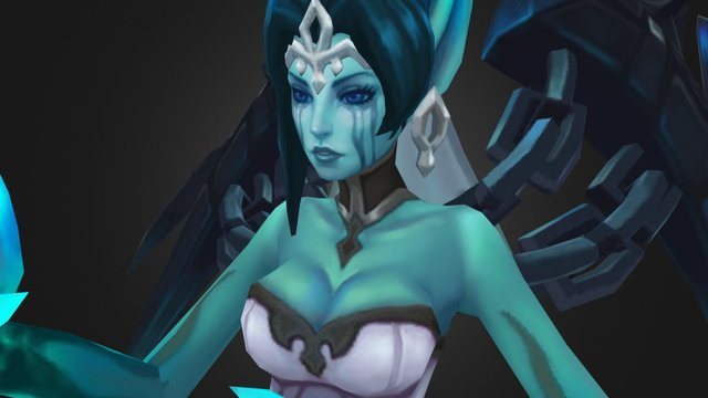 Ghost Bride Morgana 3D Model