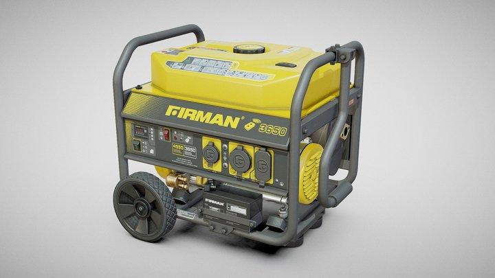 Generator - Firman 3650 3D Model