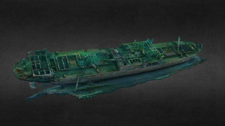 SS Hispania 3D Model