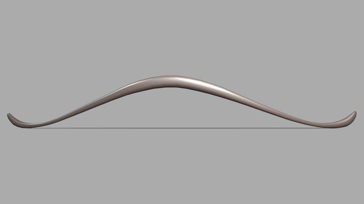 Legolas's Mirkwood Bow 3D Model