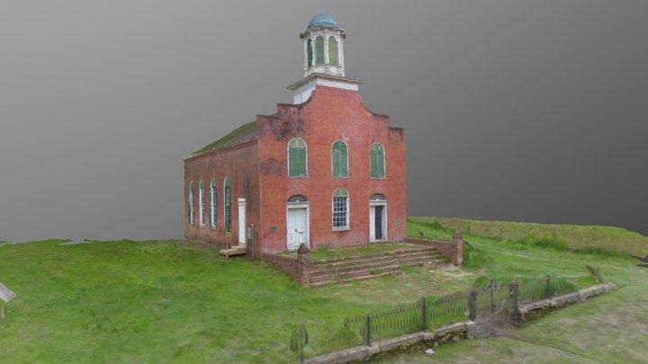 Rodney Presbyterian Church - Rodney, MS 3D Model