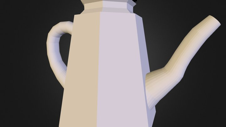 Salt Shaker No Light For Website 3D Model