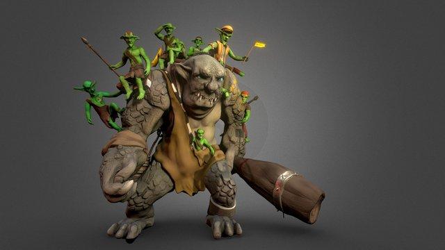 Taxi Trolls Inc. 3D Model