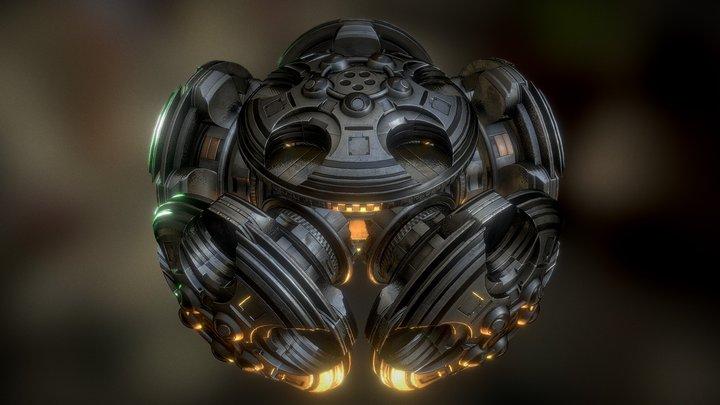 UFO Type 7 3D Model