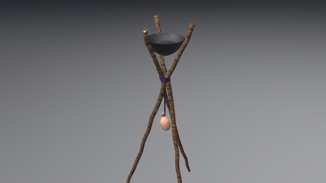 Brazier 3D Model