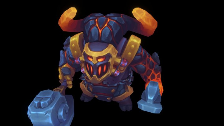 Ornn Riot Character contest entry 3D Model