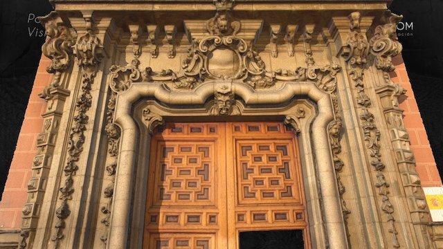 Portada barroca Palacio Perales S.XVIII Madrid 3D Model