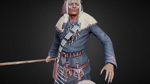 Indian 3D Model
