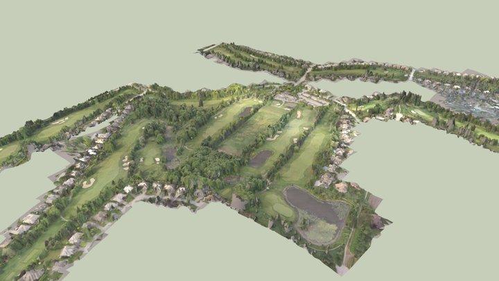 Morgan Creek Golf Course in 3D 3D Model
