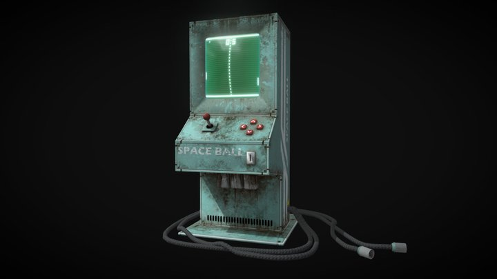 Game mashine 3D Model