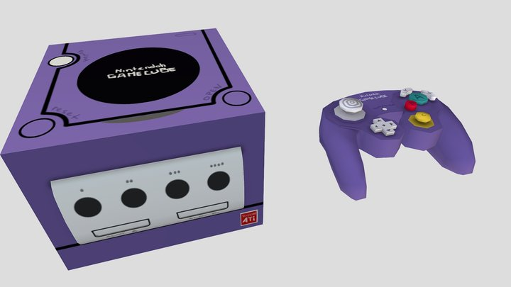 Game Cube (Free Download) 3D Model
