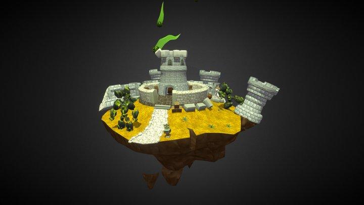 Attack on Sentinel Hill [Legion Contest] 3D Model