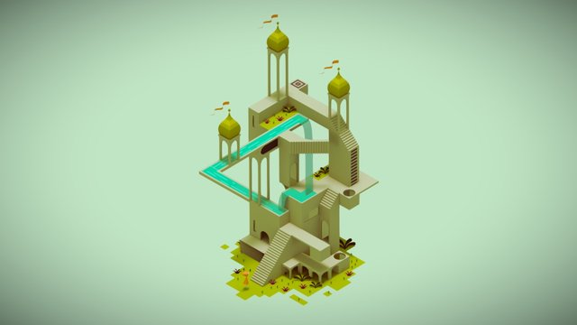 Monument Valley 3D Model