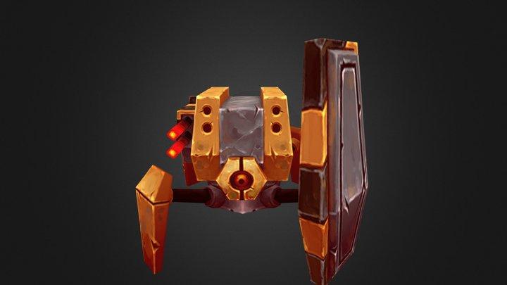 Bot 02 3D Model