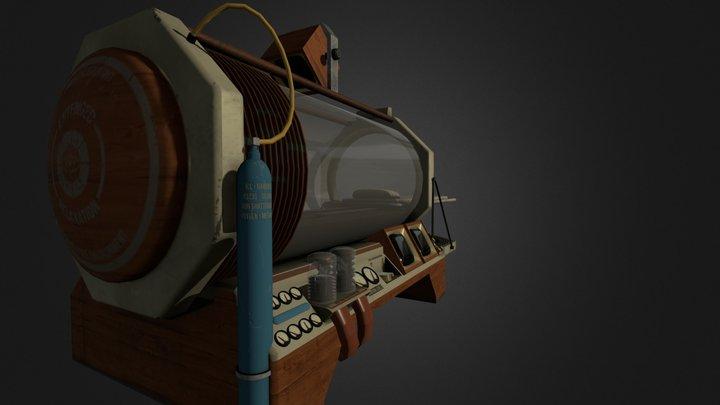 Short Term Relaxation Vault - Portalstories: Mel 3D Model