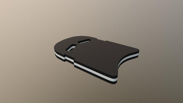 Kickboard 3D Model