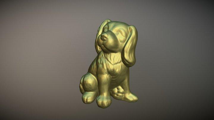 Dog Artec 3D Model