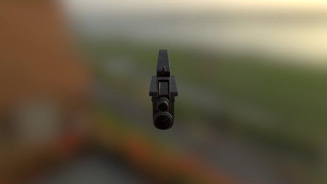 Gun Model Final 3D Model