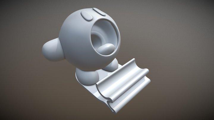 Kirby pen holder 3D Model
