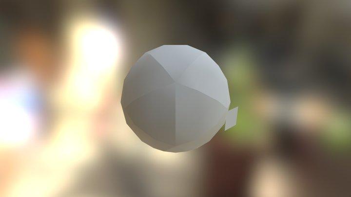 Plane Scene 3D Model