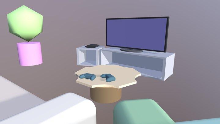 Laboratorio 3D San Secondo - Salotto 3D Model