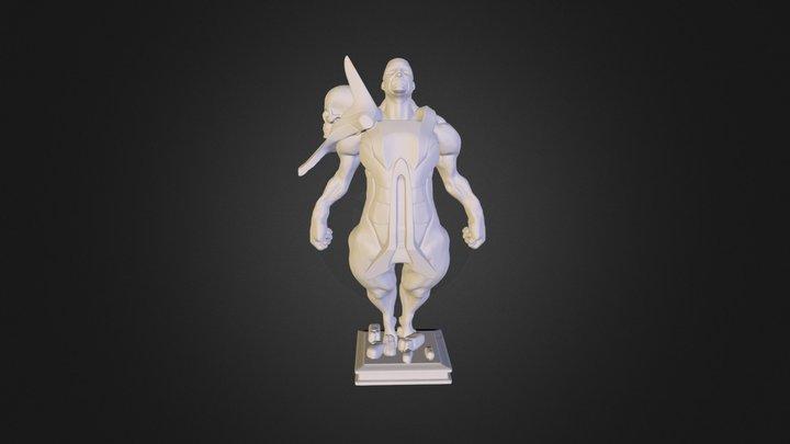 TheScientist 3D Model