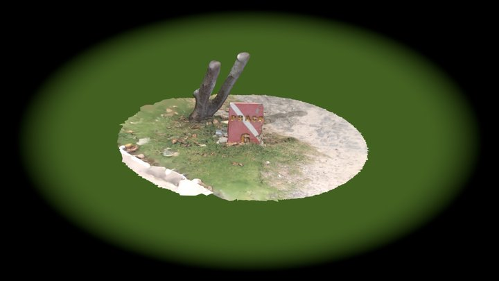 Praça 6 placa 3D Model