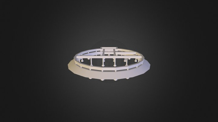 Dome Home 3D Model