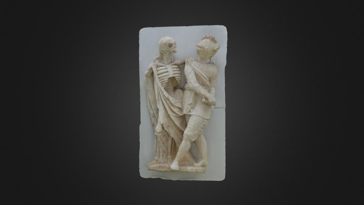 la cambre death and knight 3D Model
