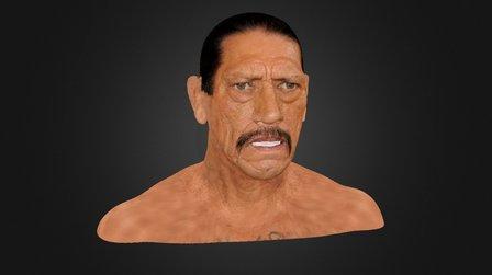 DANNY TREJO TEXTURE 3D Model