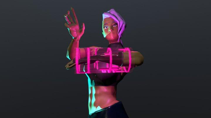 VIX The Hacker 3D Model