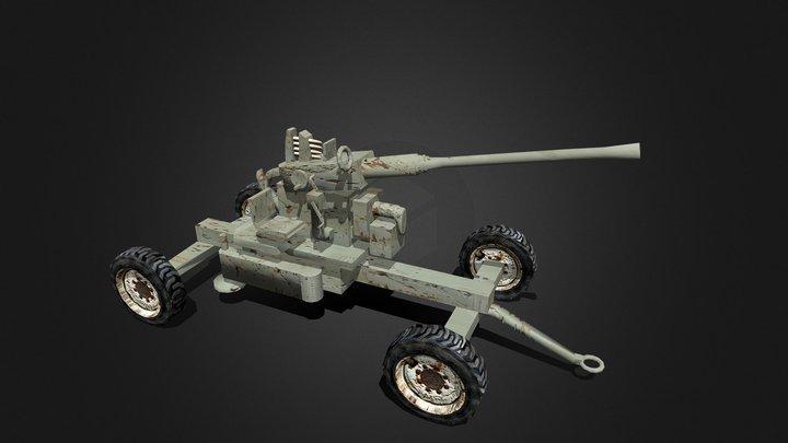 Bofors 40 3D Model