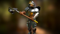 Knight Complete 3D Model