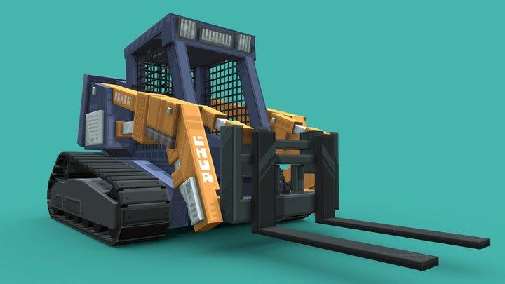 Skid steer 3D Model