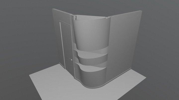 Wall 3d 3D Model