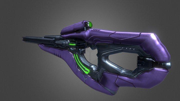 Halo - Carbine 3D Model