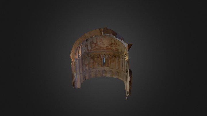 Ábside de la Iglesia de El Salador. 3D Model